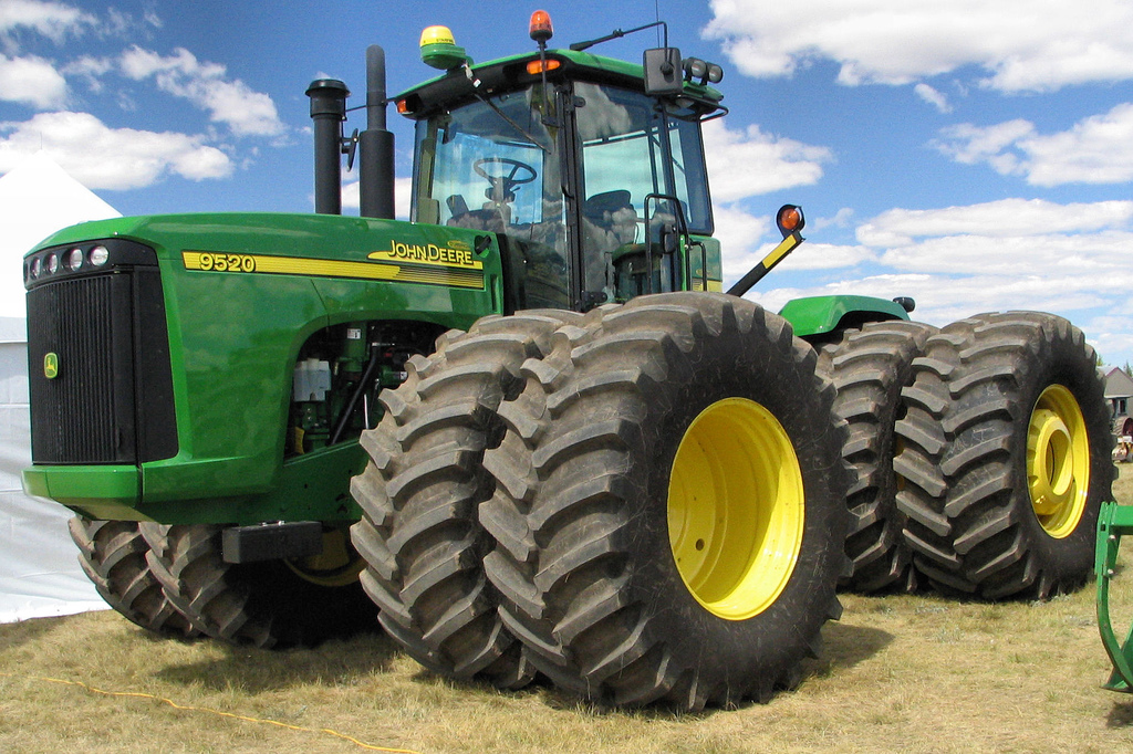 John Deere 9520 tractor | This is a current top of the ...