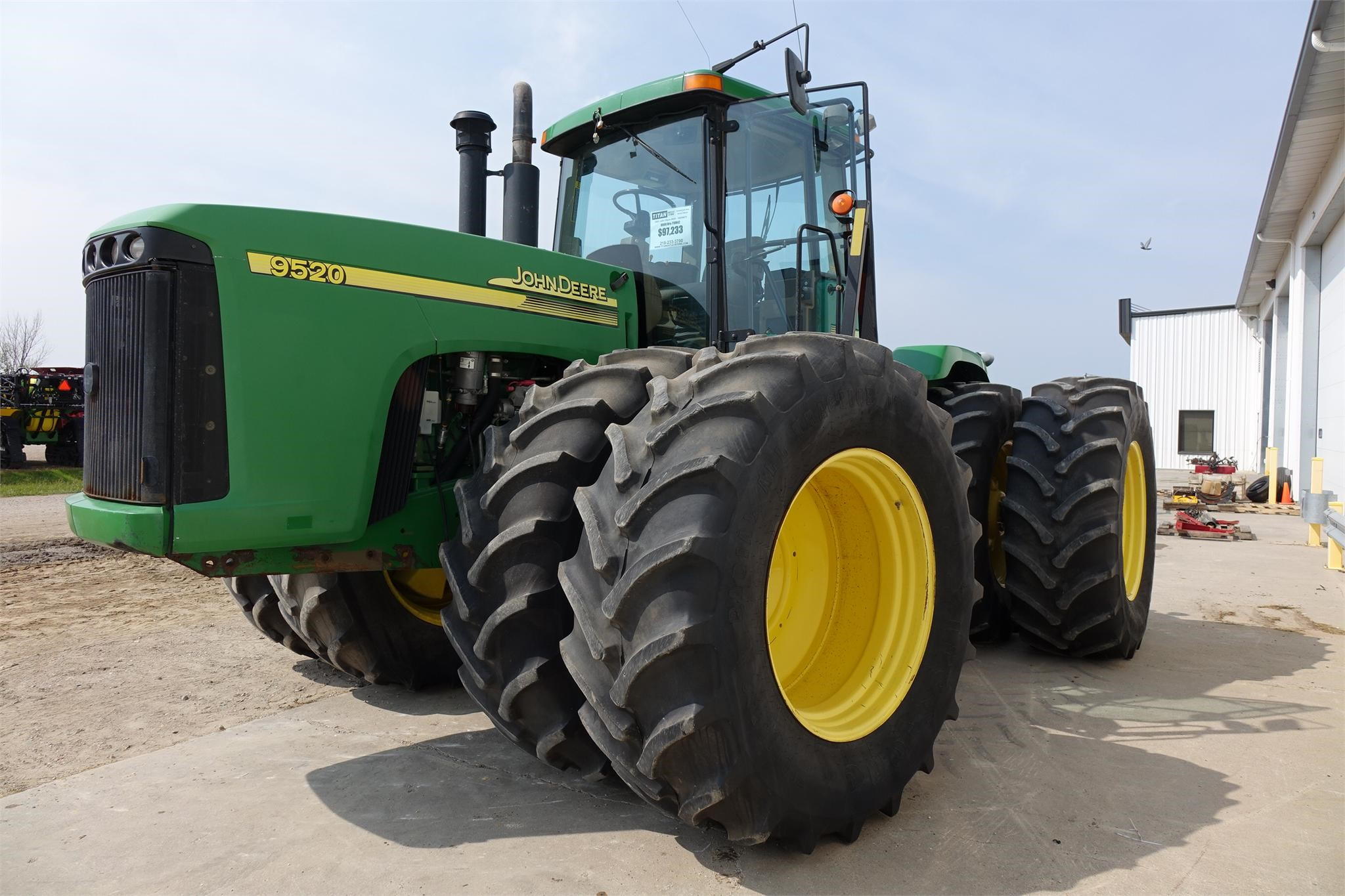 Wisconsin Ag Connection - JOHN DEERE 9520 Tractors for sale