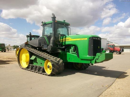 John Deere 9520T Tractors - Row Crop (+100hp) - John Deere ...