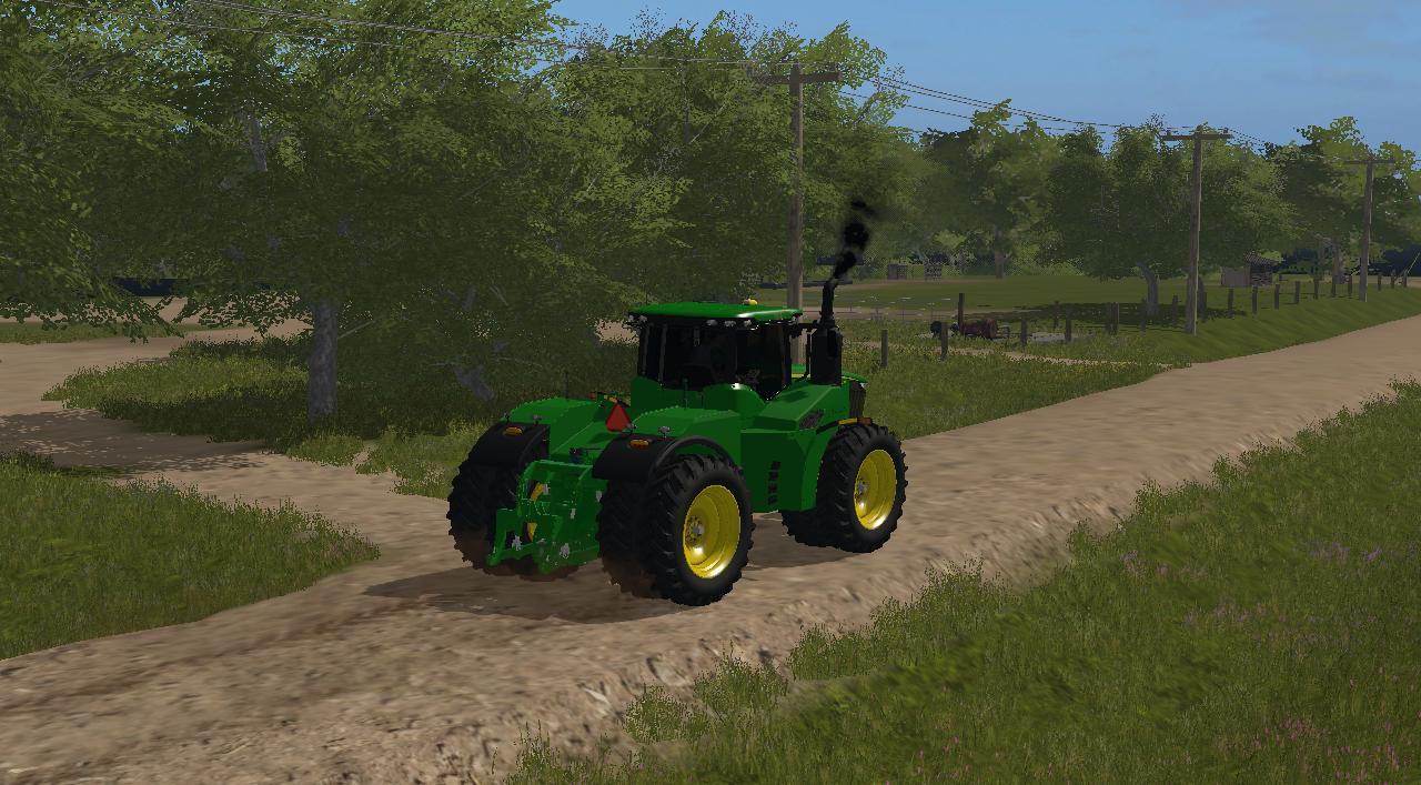 JOHN DEERE 9470R TRACTOR - Mod for Farming Simulator 2017 ...