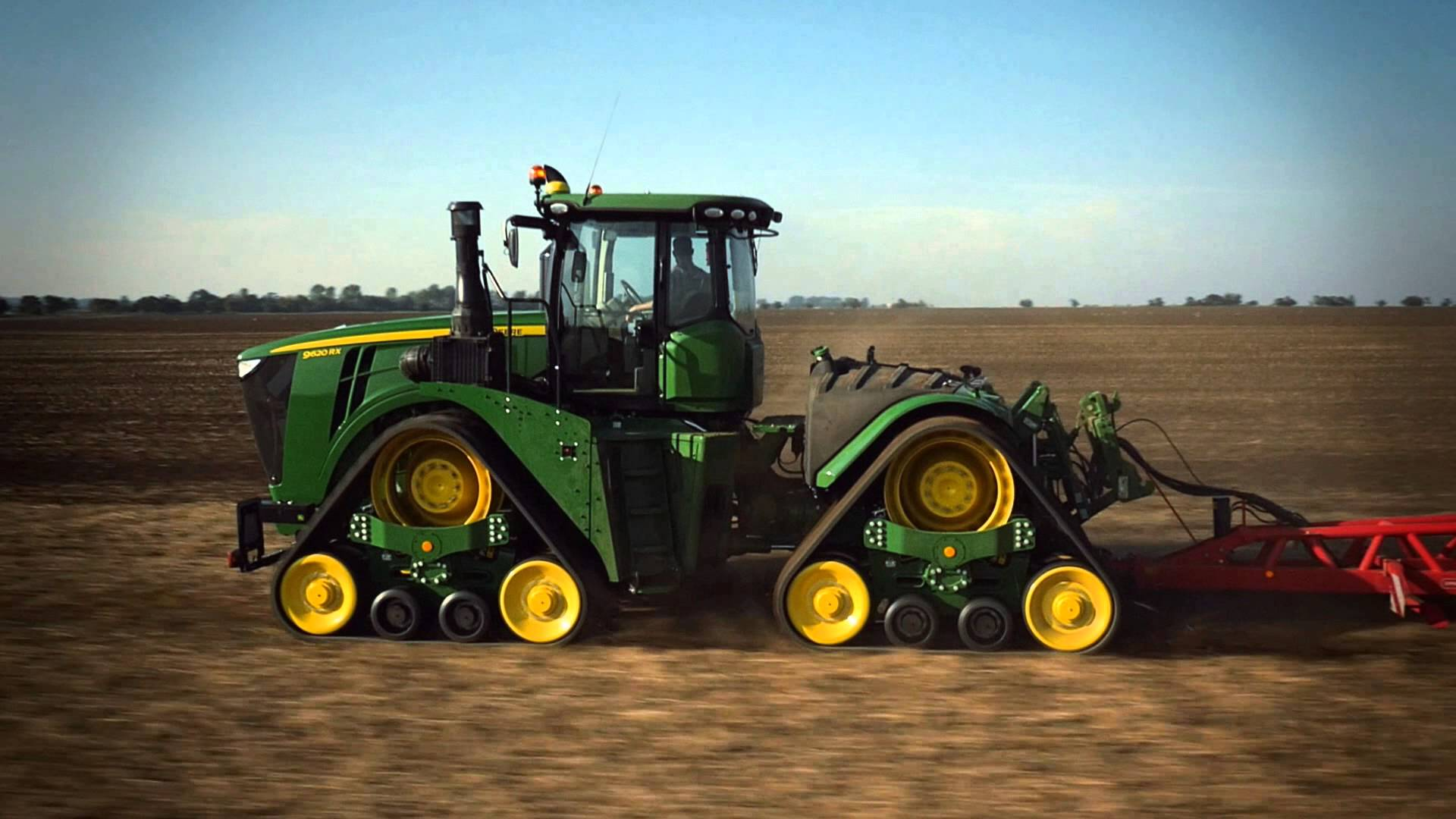 The New John Deere 9RX Series Tractors - YouTube