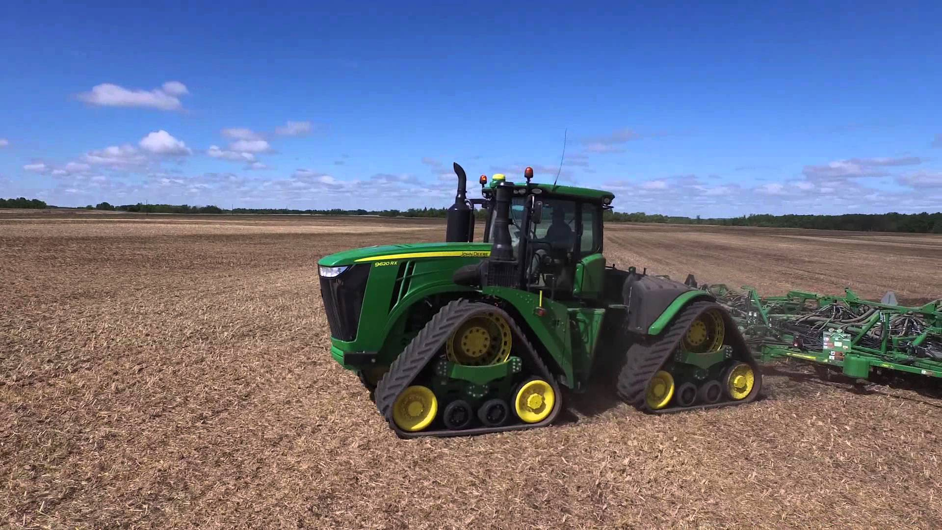 The New John Deere 9RX Series Tractor - YouTube