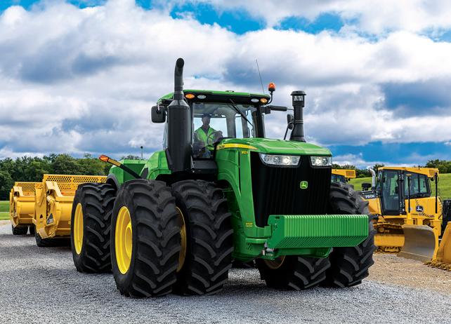 Scraper Special Tractor   9570R   John Deere US
