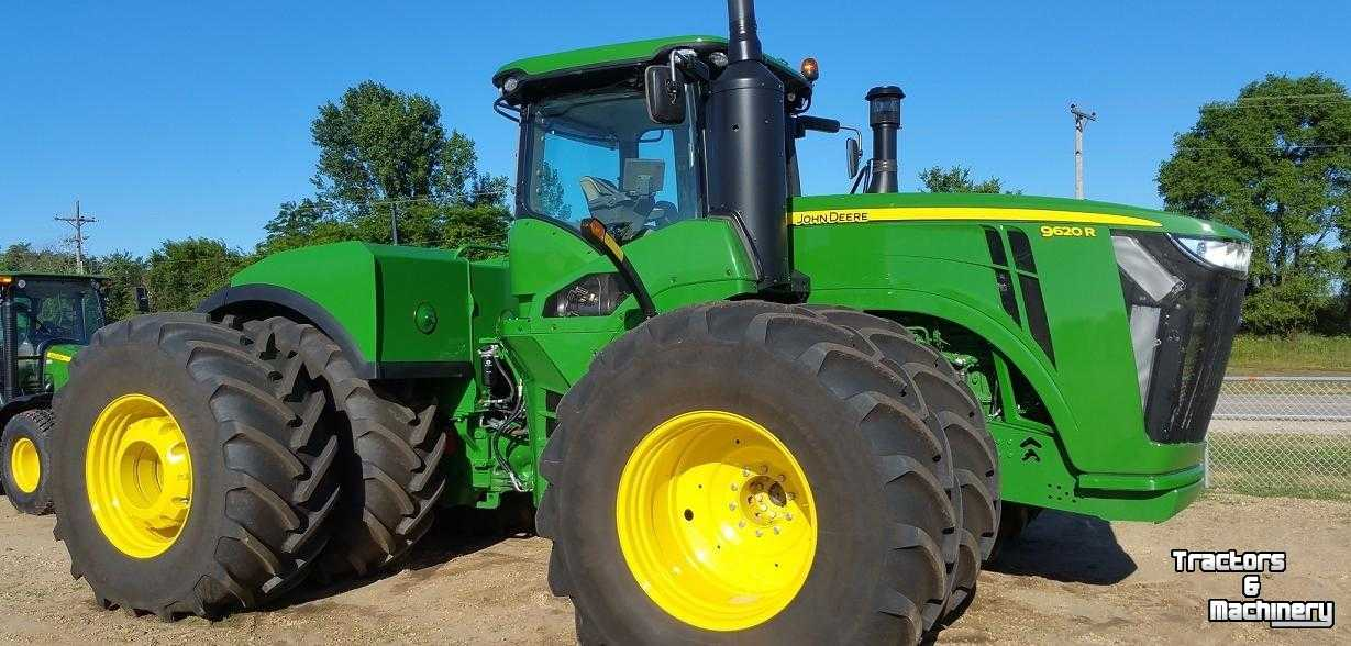 John Deere 9620R 4WD ARTICULATED TRACTOR IL USA - Used ...