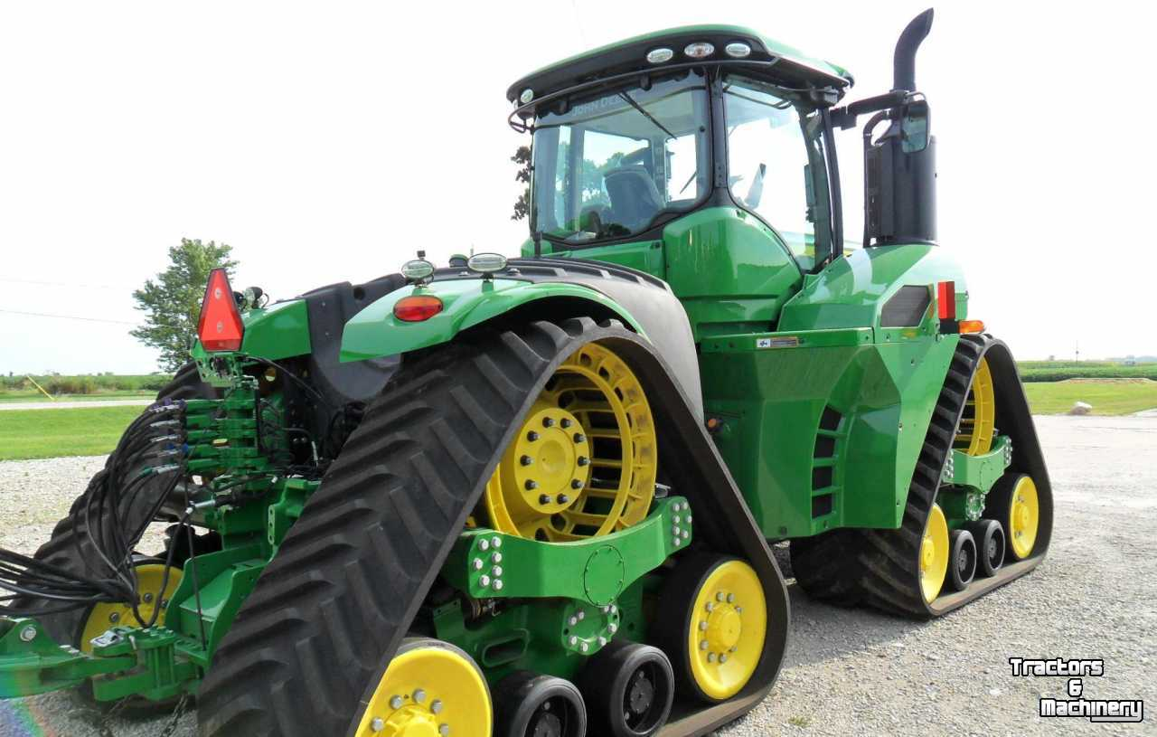 John Deere 9620RX ARTICULATED TRACK TRACTOR IL USA - Used ...