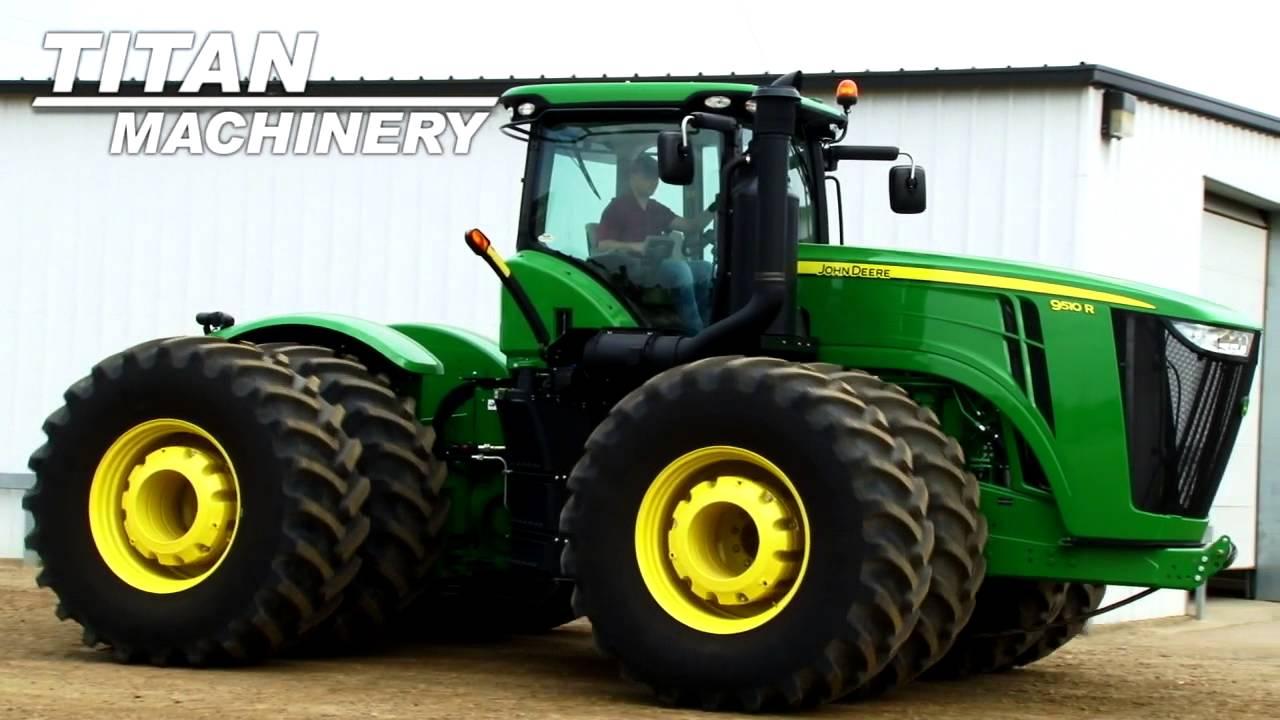 John Deere 9510R Tractor Sold on ELS! - YouTube