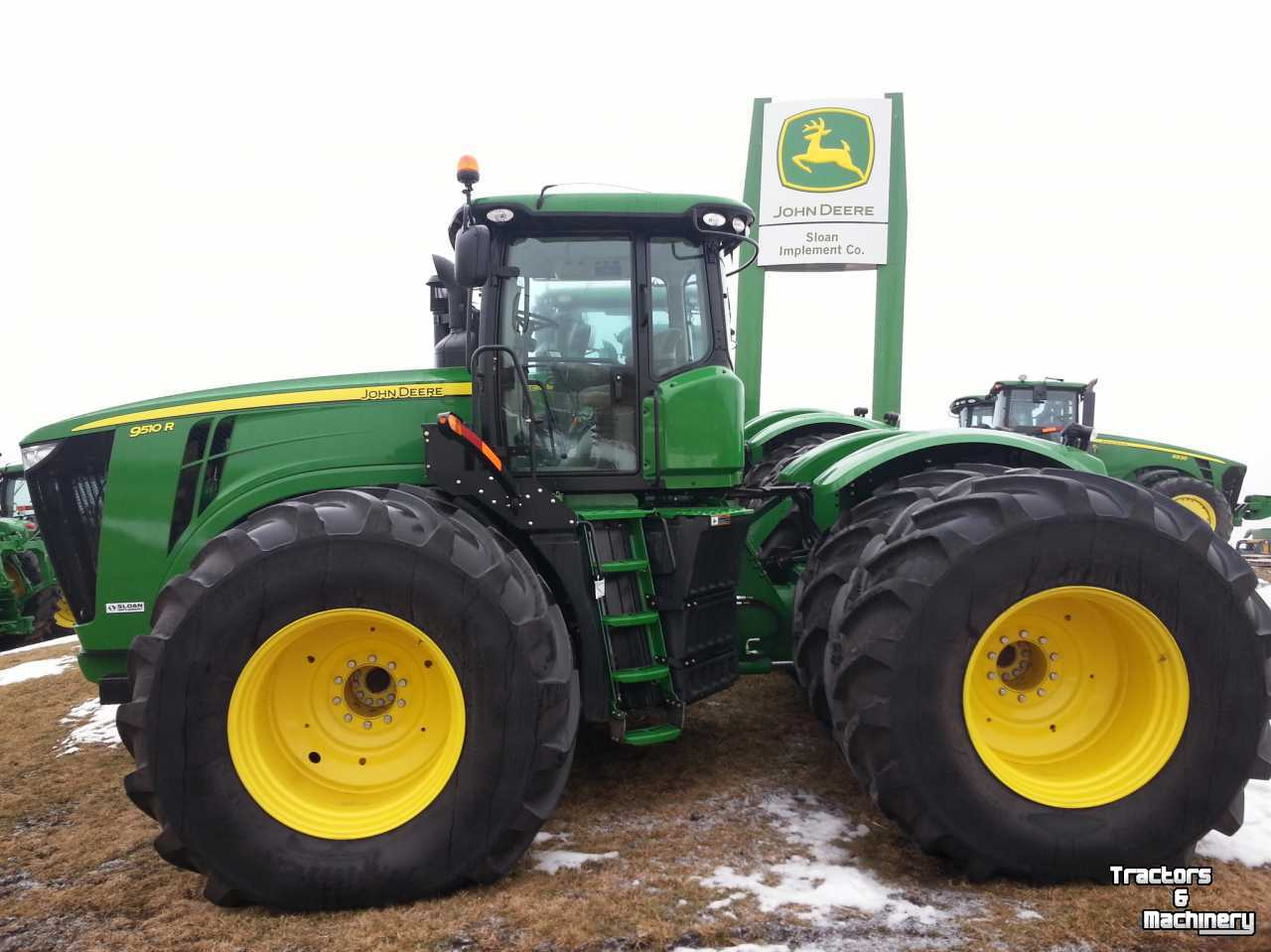 John Deere 9510R TRACTOR - Used Tractors - 2013 - IL 62510 ...