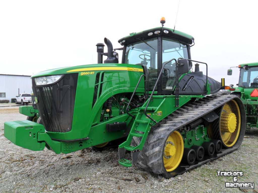 John Deere 9560RT TRACTOR TRACKS - Used Tractors - 2012 ...