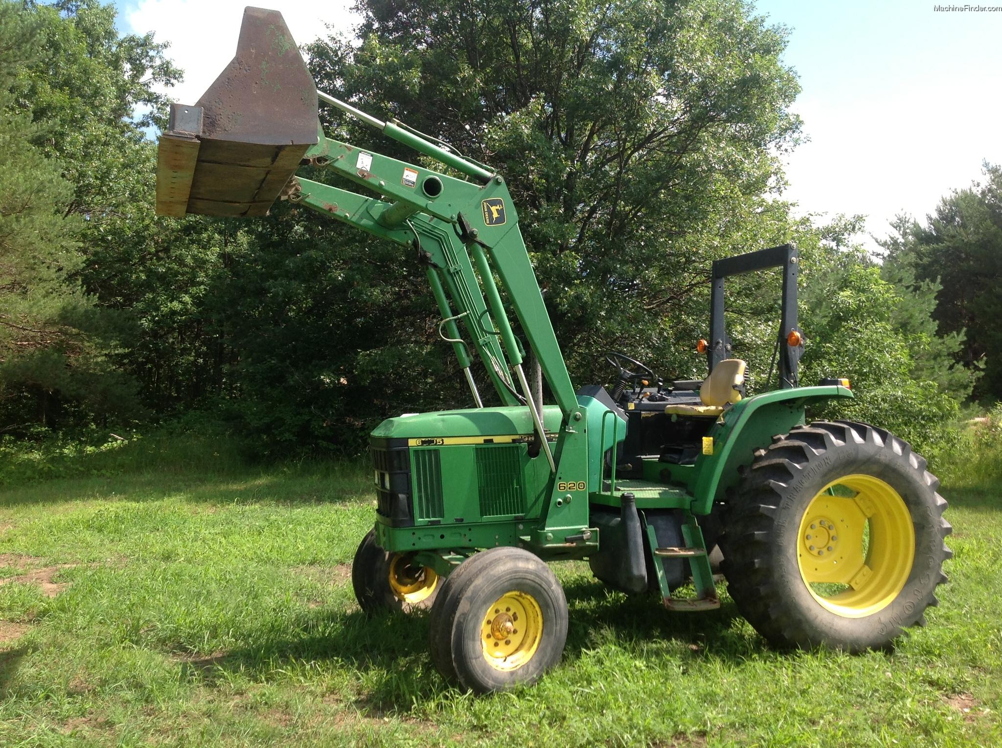 2001 John Deere 6405 Tractors - Utility (40-100hp) - John ...