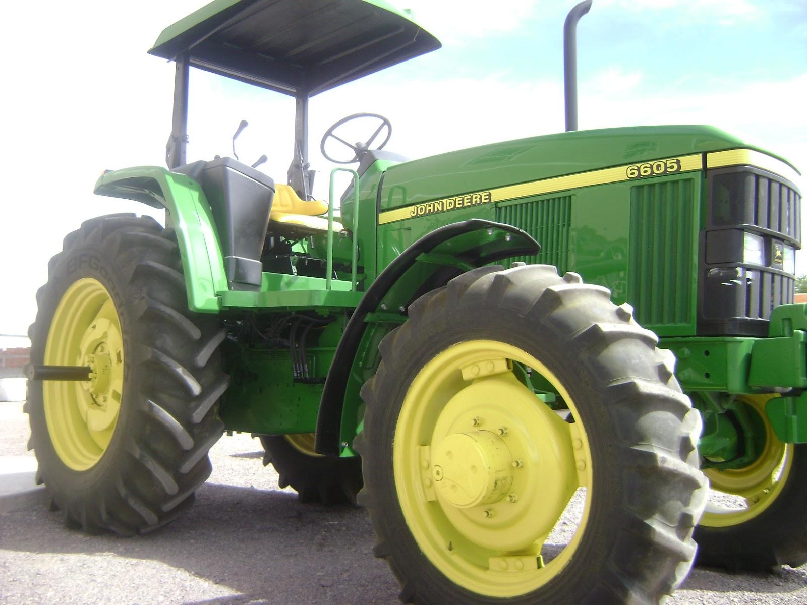 MAQUINARIA AGRICOLA INDUSTRIAL: Tractor John Deere 6605 ...