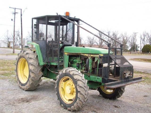 John Deere 6605 salvage tractor at Bootheel Tractor Parts