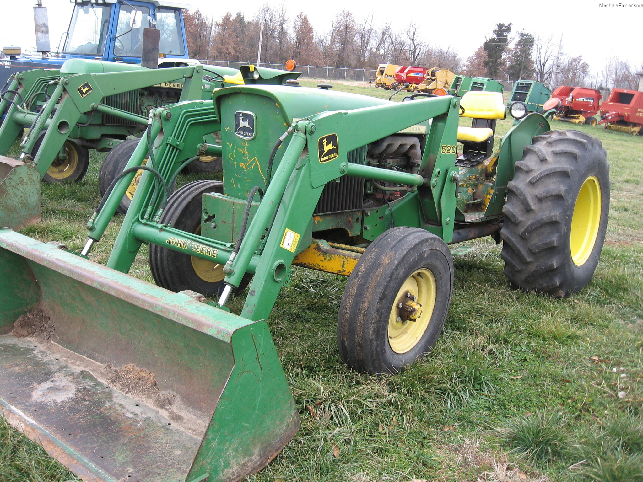 John Deere 2030 Tractors - Utility (40-100hp) - John Deere ...