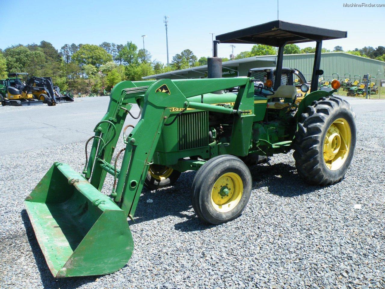 John Deere 2030 Tractors - Compact (1-40hp.) - John Deere ...