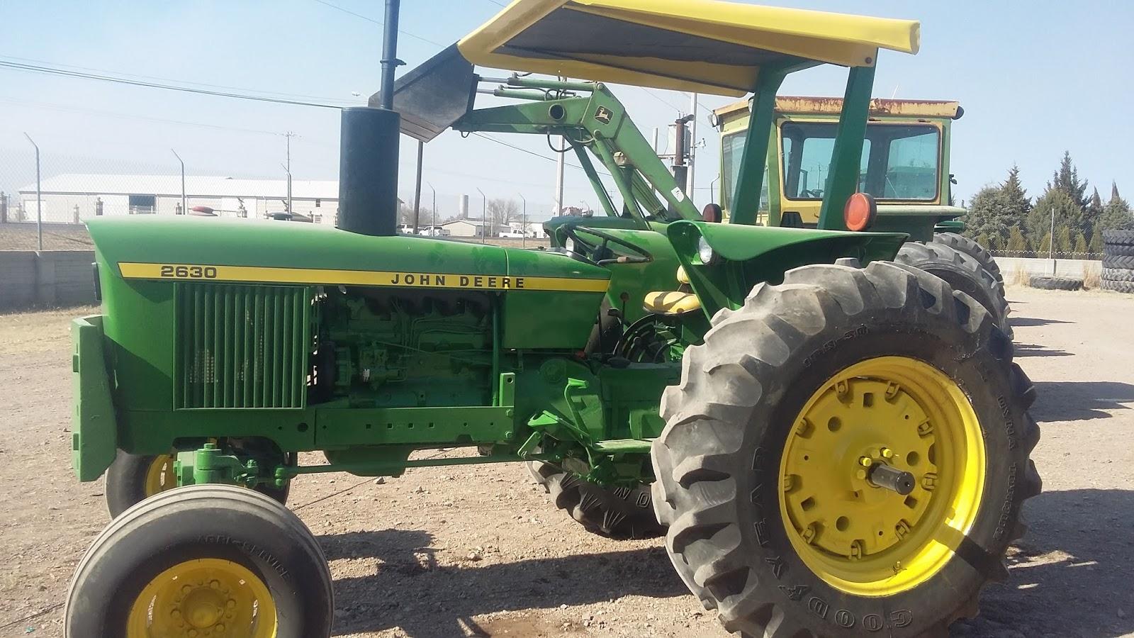 MAQUINARIA AGRICOLA INDUSTRIAL: Tractor John Deere 2630 ...