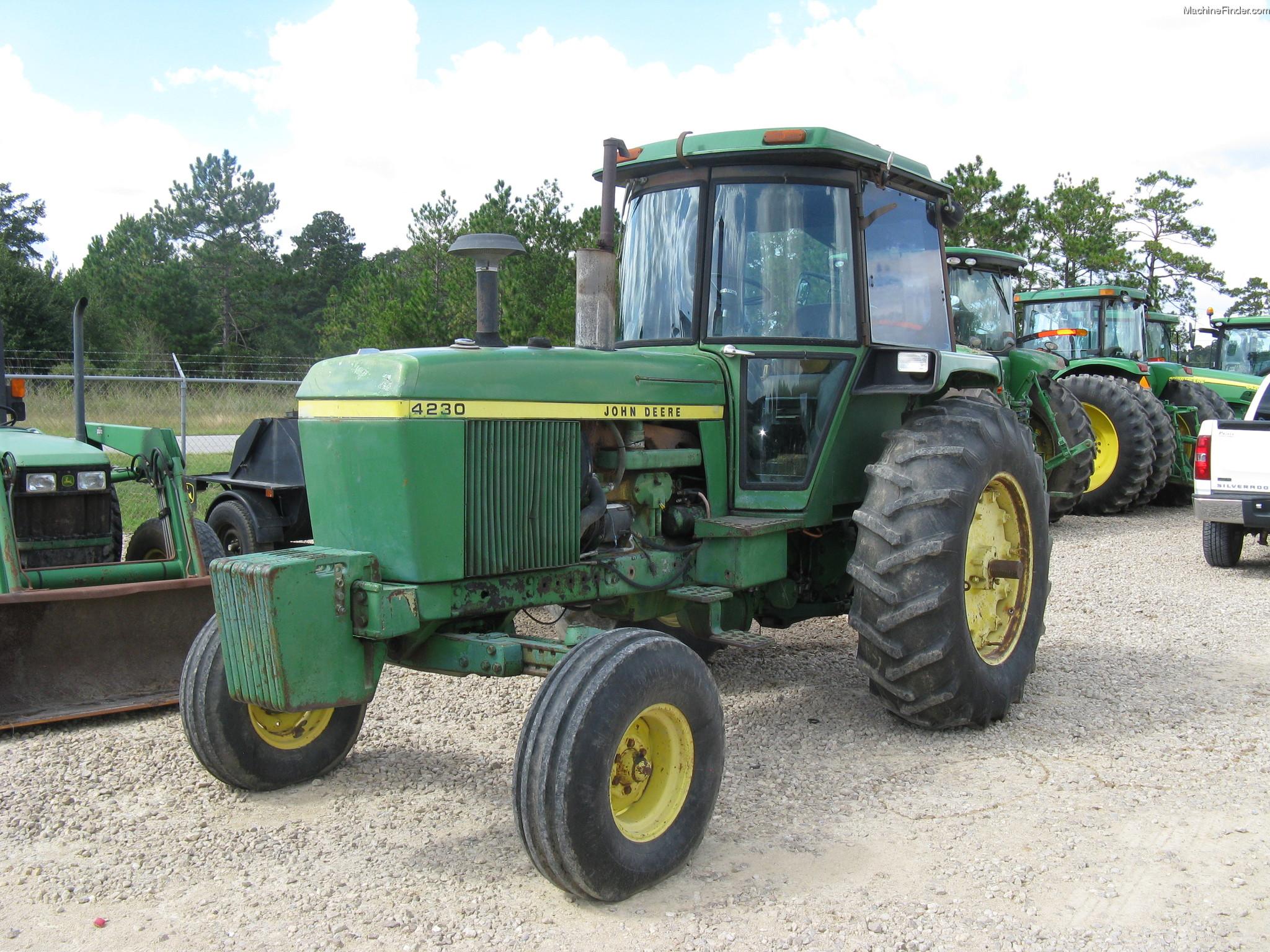 John Deere 4230 Tractors - Row Crop (+100hp) - John Deere ...