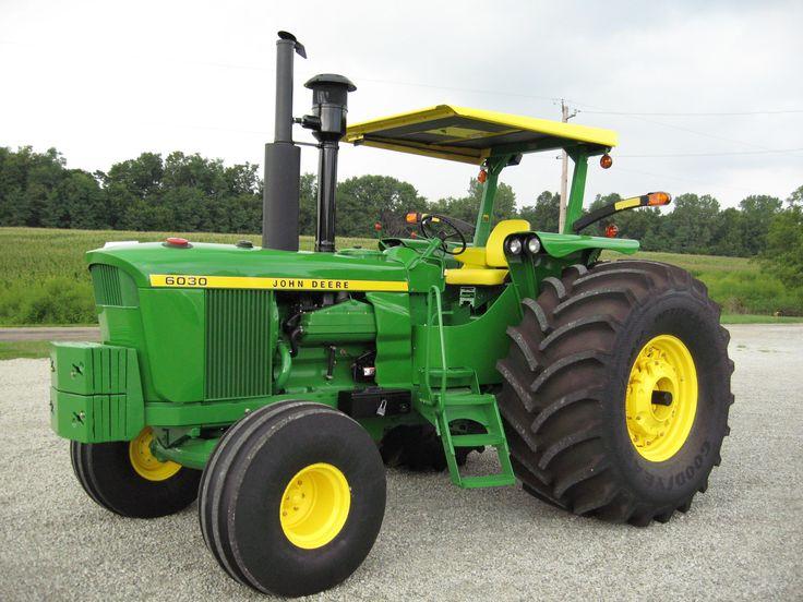 1977 John Deere 6030 one beast of a tractor wish I had one ...