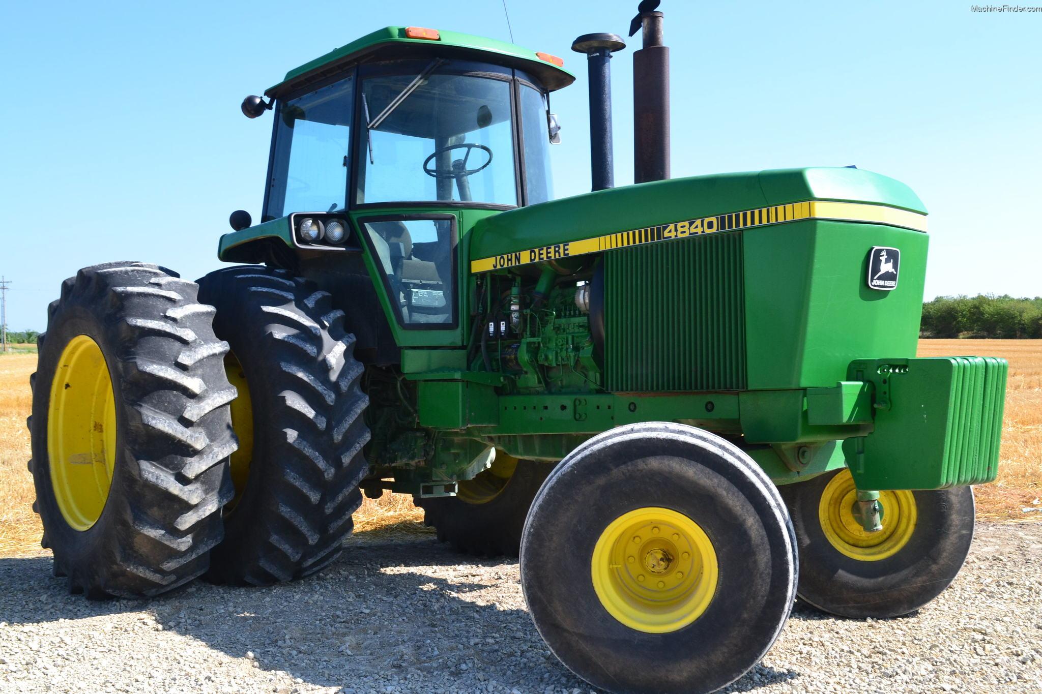 1982 John Deere 4840 Tractors - Row Crop (+100hp) - John ...