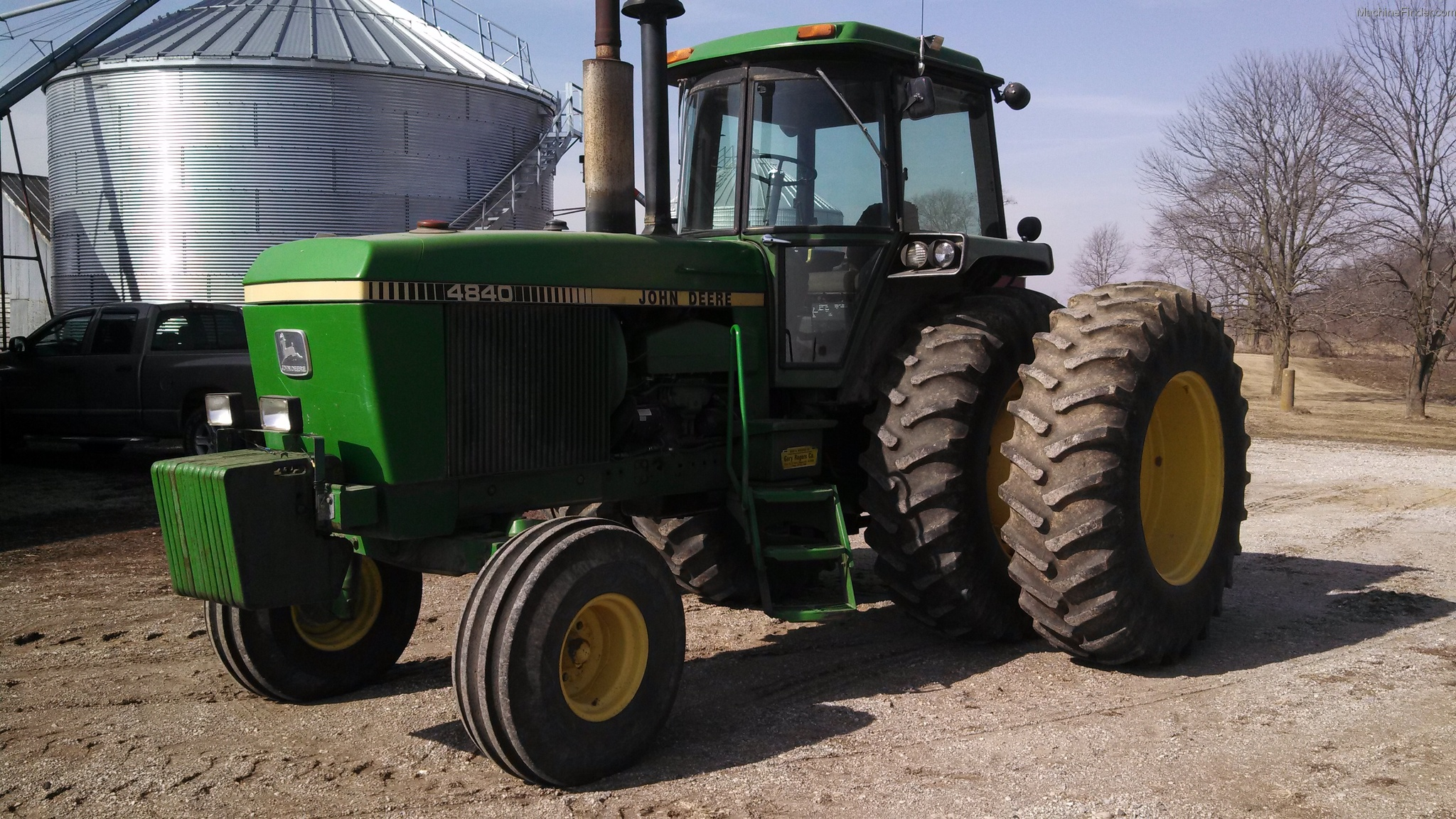 John Deere 4840 Tractors - Row Crop (+100hp) - John Deere ...