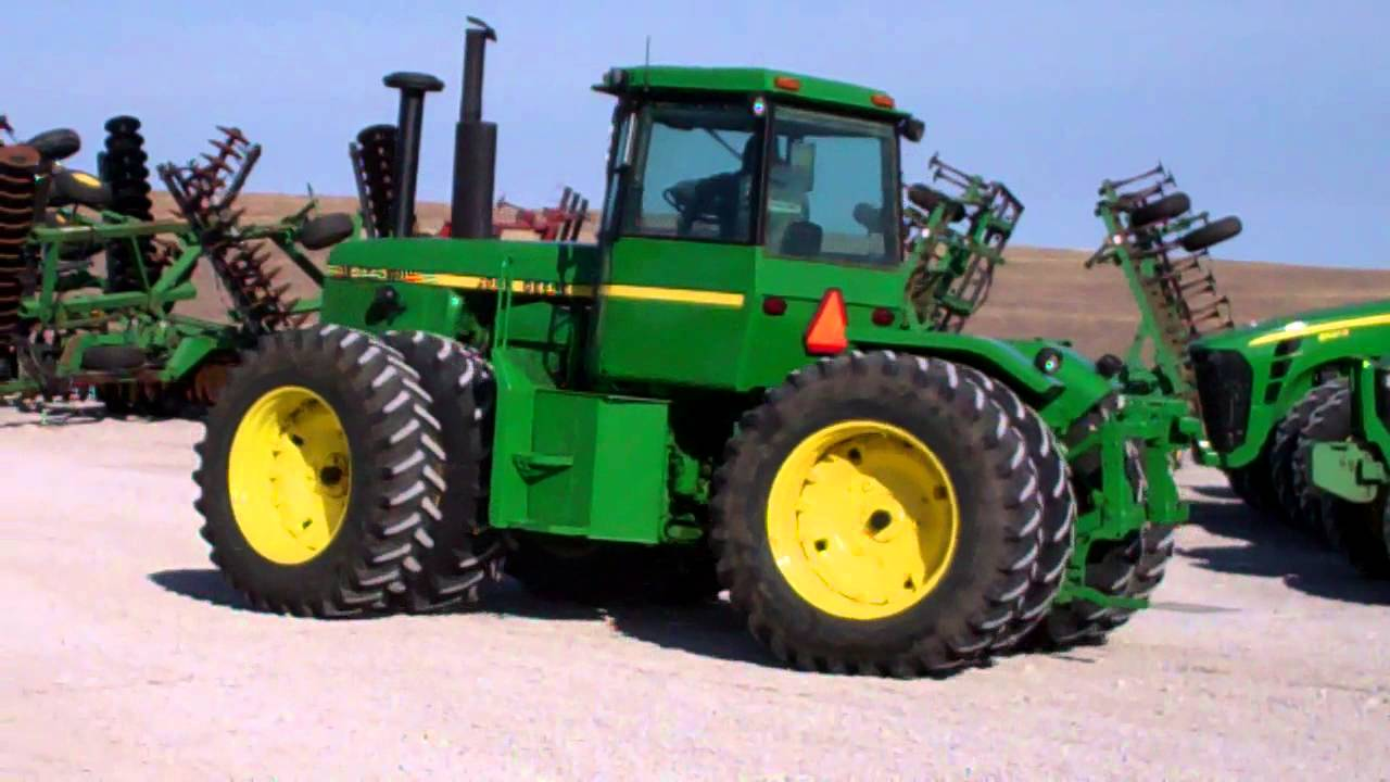 1980 JOHN DEERE 8440 For Sale - YouTube