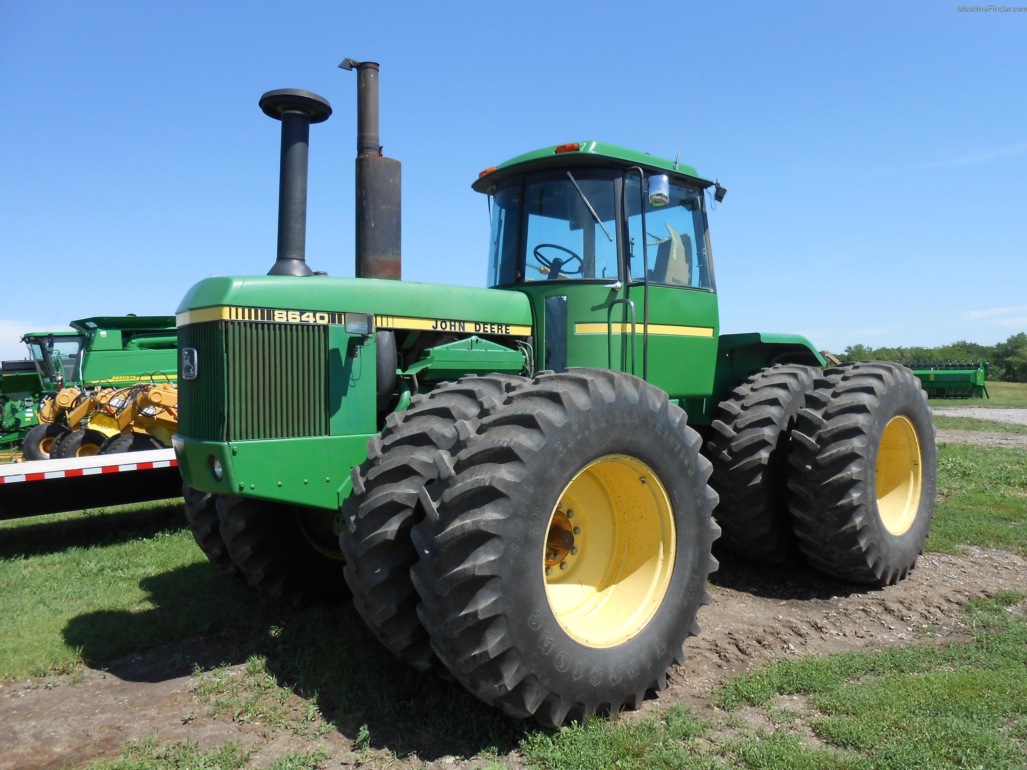 John Deere 8640 Tractor - Bing images
