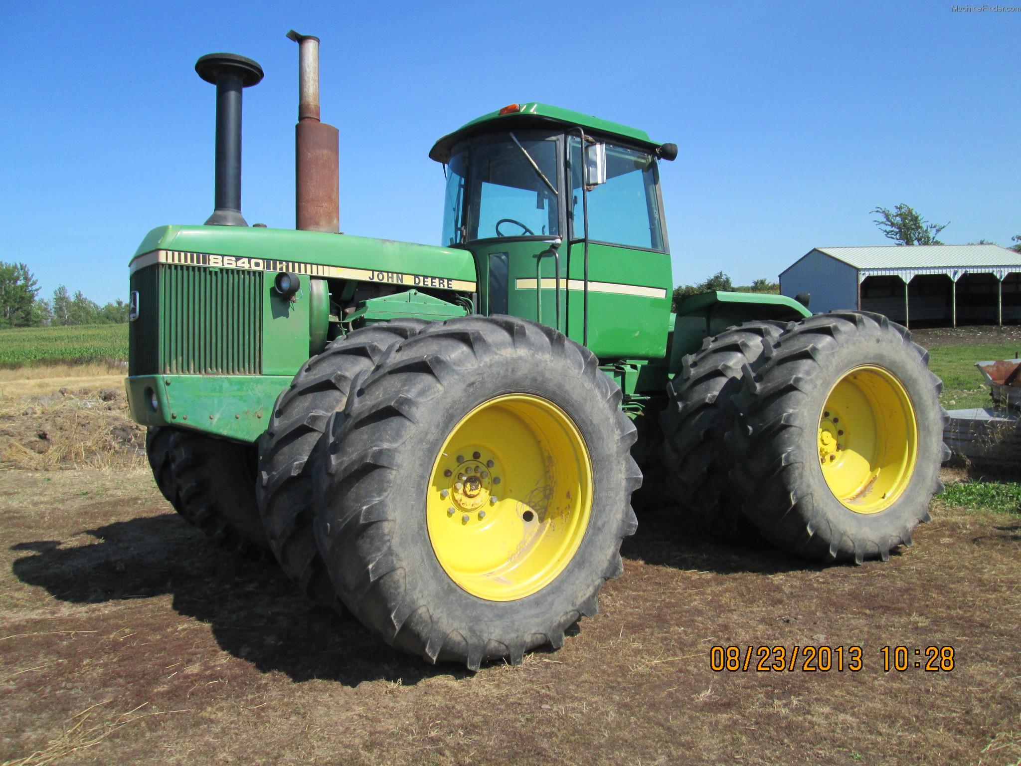 1981 John Deere 8640 Tractors - Articulated 4WD - John ...