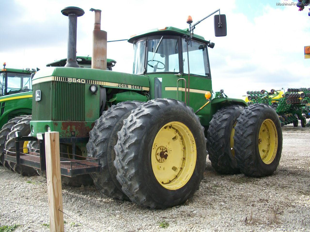 1980 John Deere 8640 Tractors - Articulated 4WD - John ...