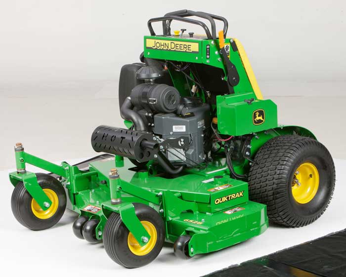 John Deere Grows QuikTrak™ Stand-On Commercial Mower Line