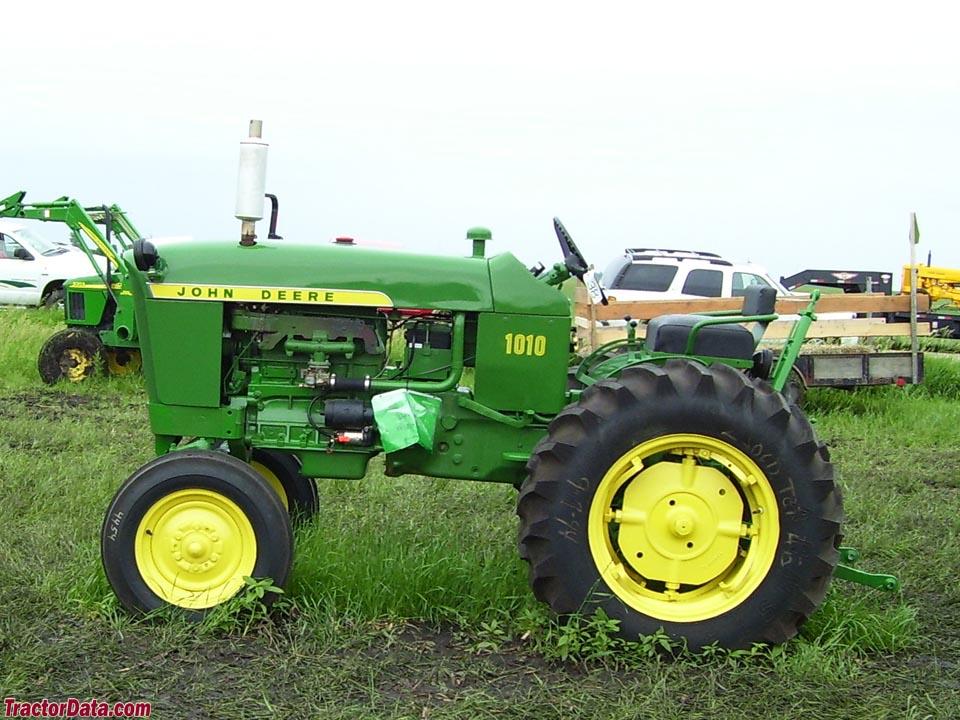 TractorData.com John Deere 1010 tractor photos information