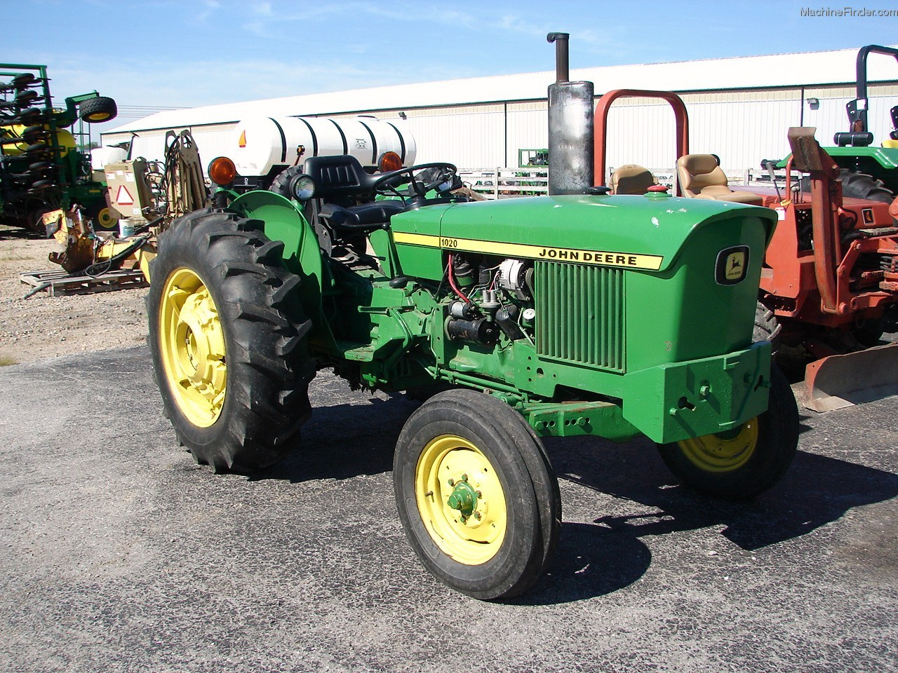 1972 John Deere 1020 Tractors - Utility (40-100hp) - John ...
