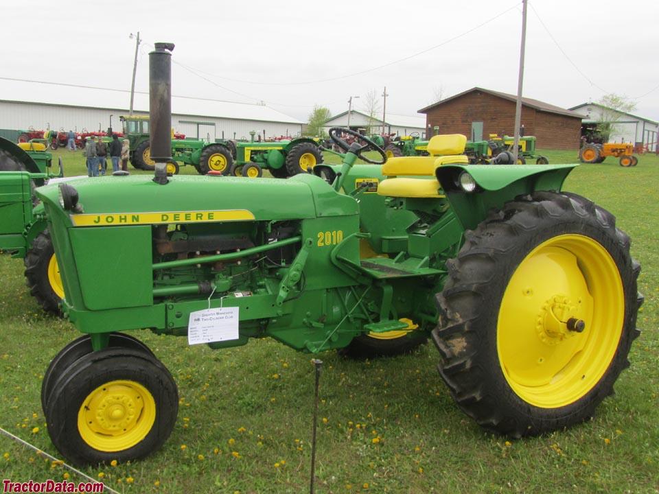TractorData.com John Deere 2010 tractor photos information