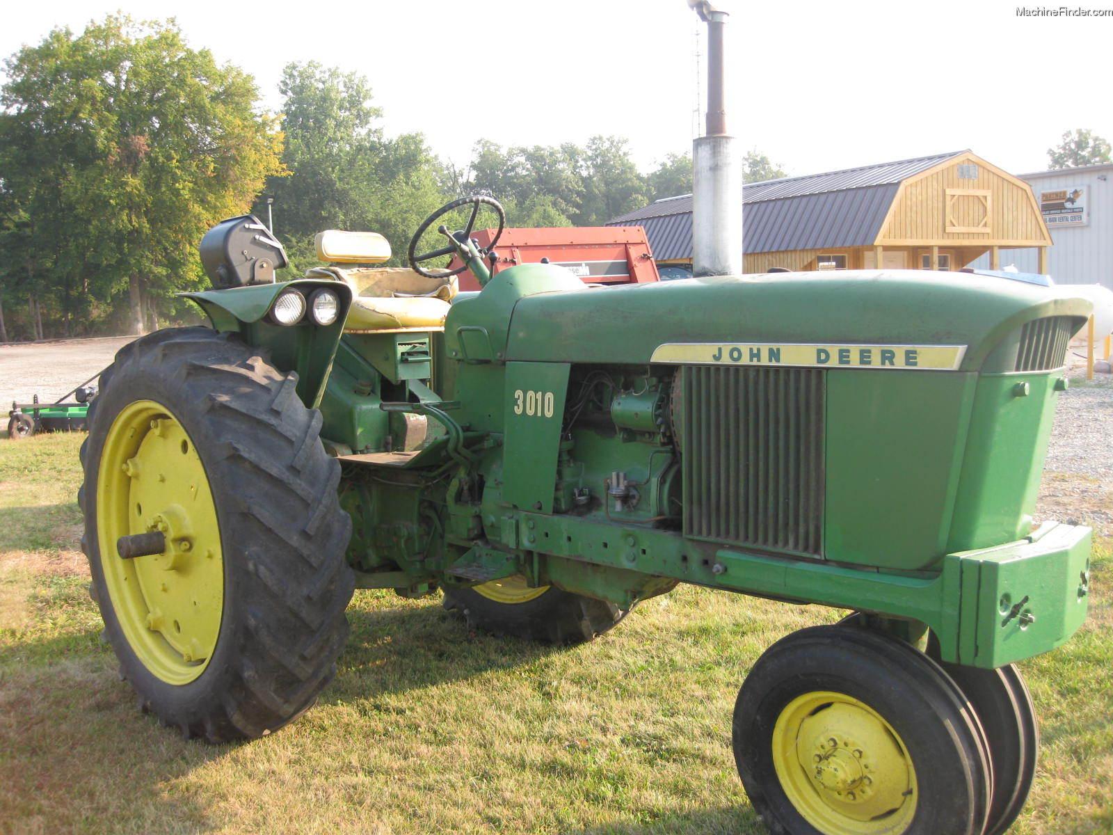 1967 John Deere 3010 Tractors - Row Crop (+100hp) - John ...