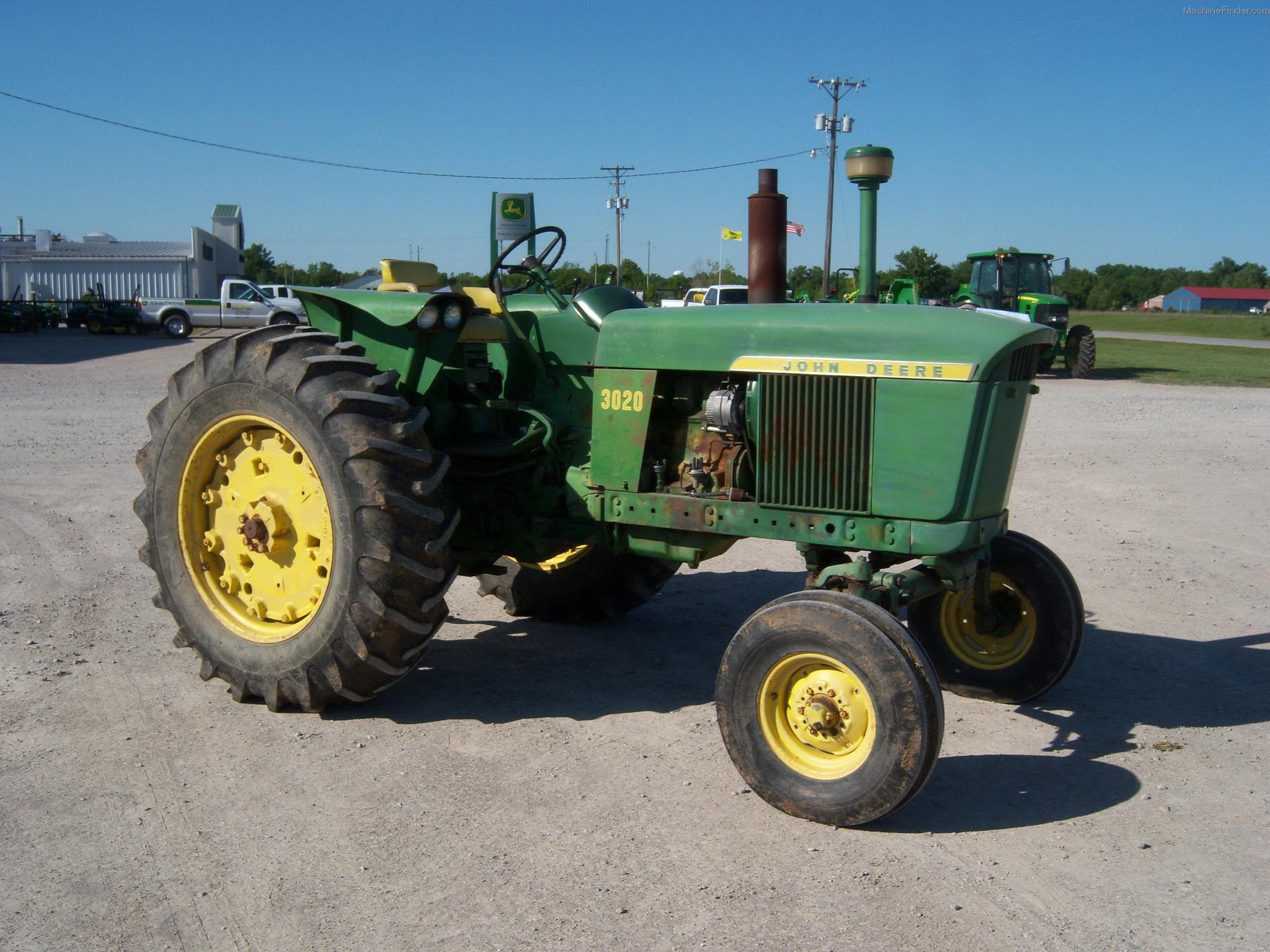 1967 John Deere 3020 Tractors - Utility (40-100hp) - John ...