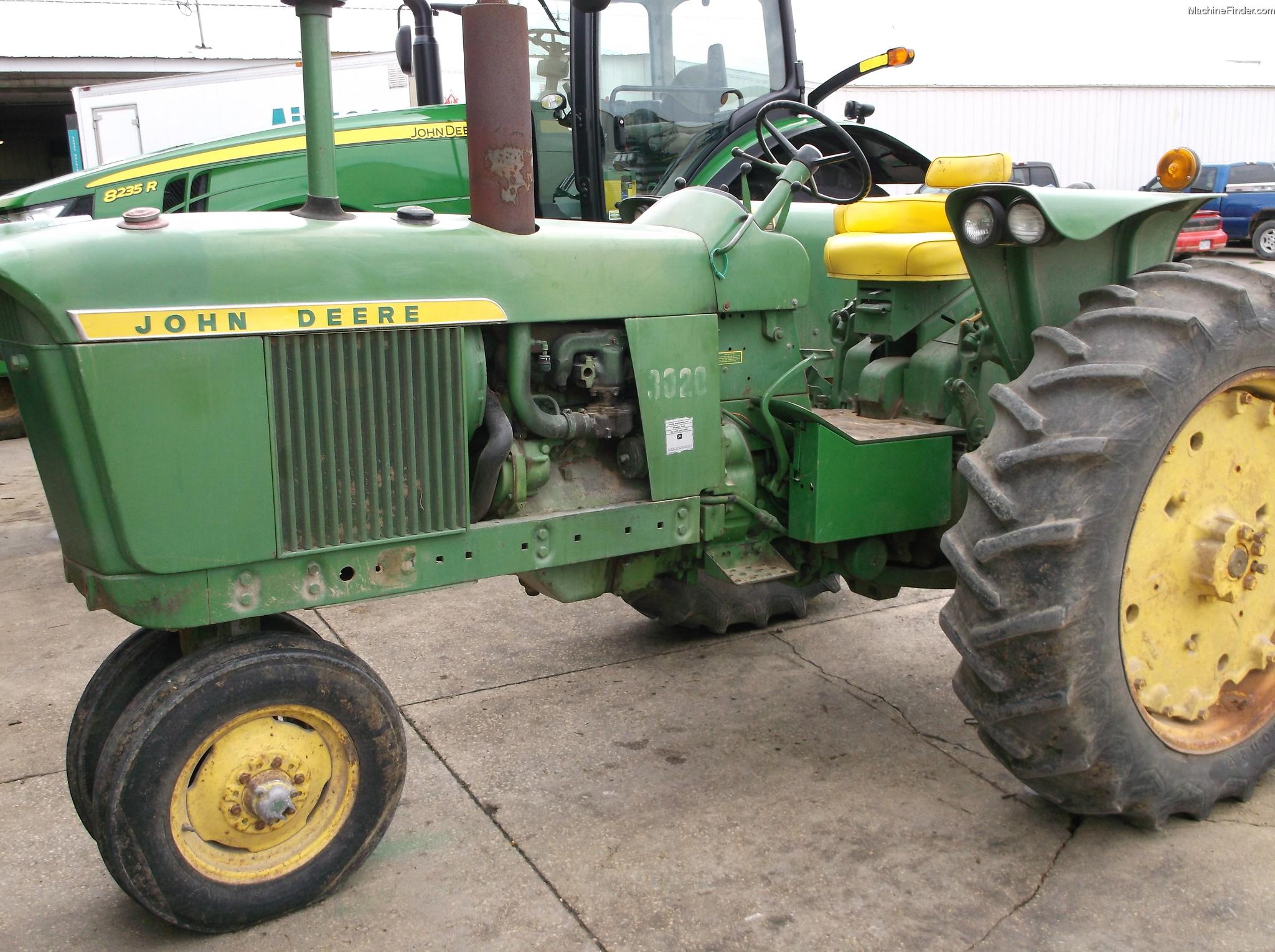 John Deere 3020 Tractors - Row Crop (+100hp) - John Deere ...