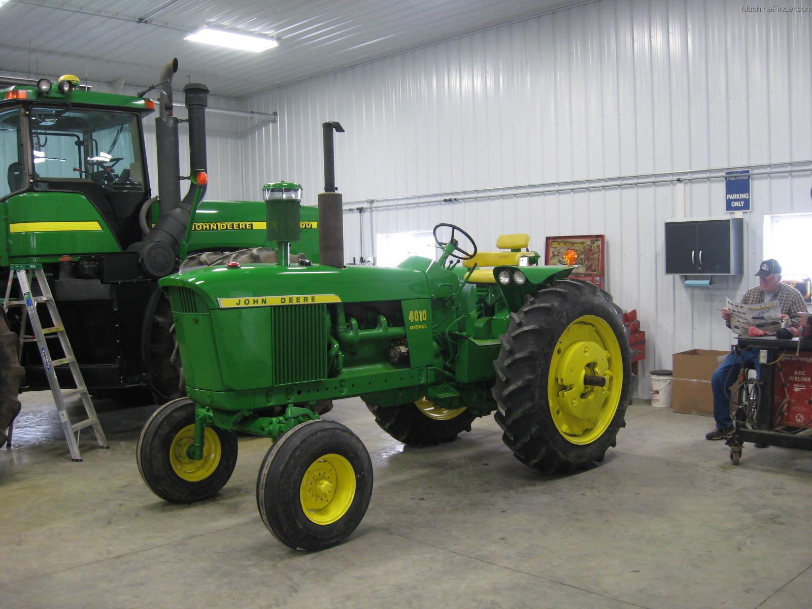 John Deere 4010 Tractors - Row Crop (+100hp) - John Deere ...