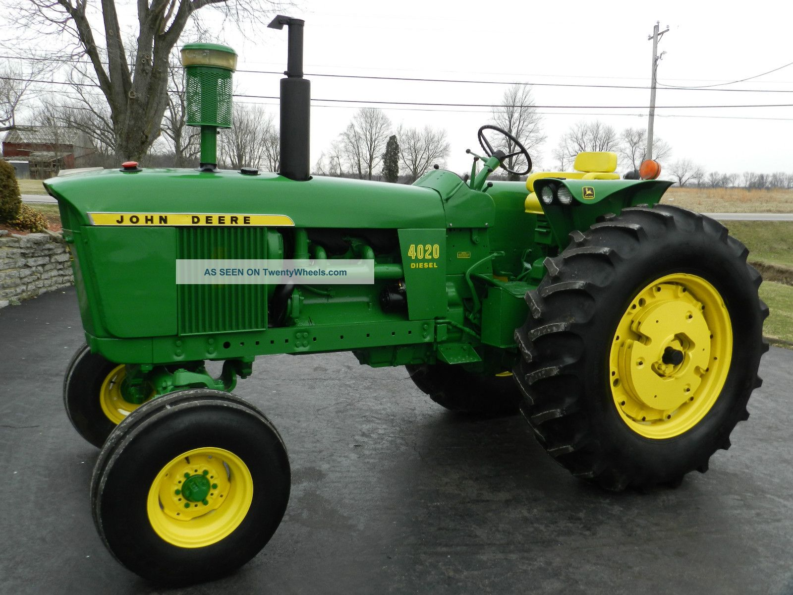 John Deere 4020 Tractor - Diesel - Restored - Sharp