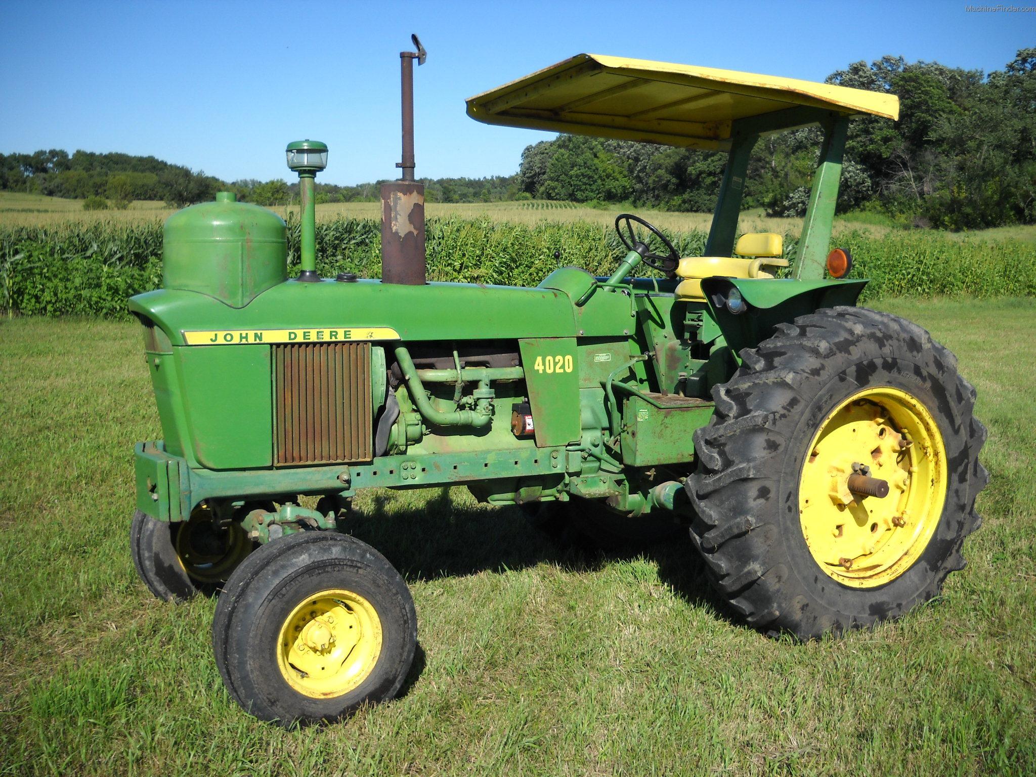 1971 John Deere 4020 Tractors - Row Crop (+100hp) - John ...