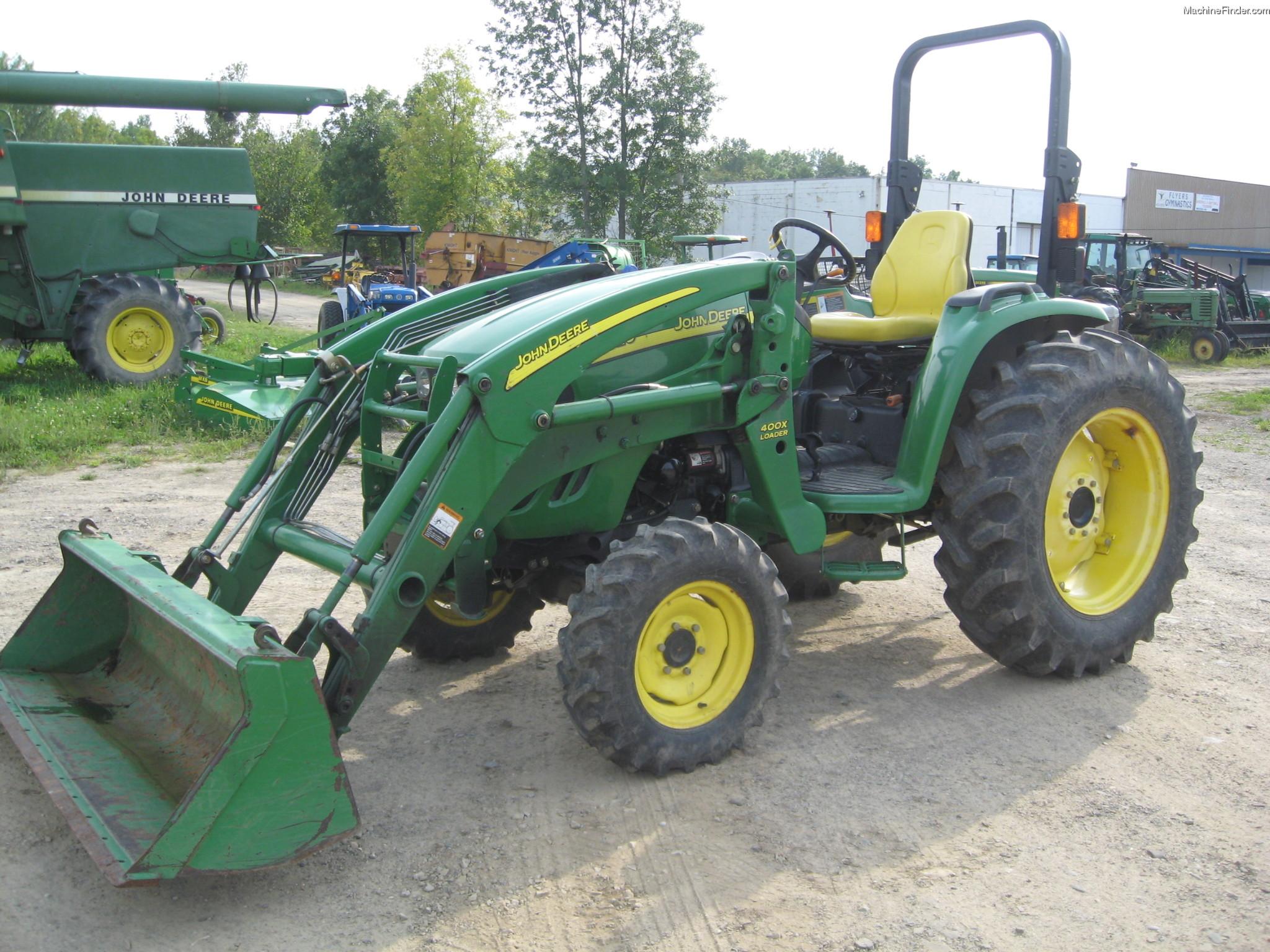 2007 John Deere 4320 Tractors - Utility (40-100hp) - John ...