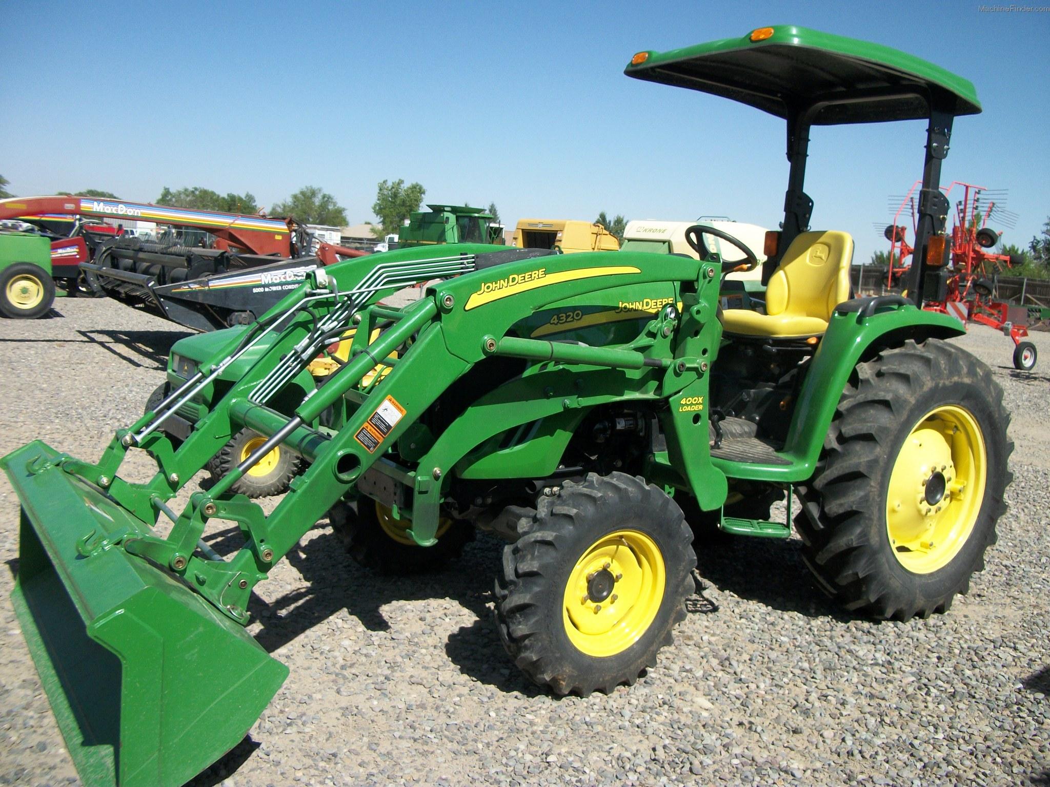 2008 John Deere 4320 Tractors - Row Crop (+100hp) - John ...
