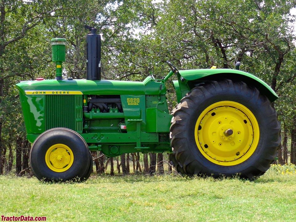 TractorData.com John Deere 5020 tractor photos information