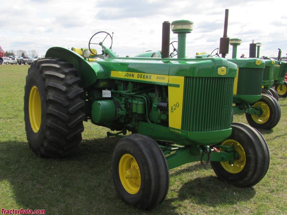TractorData.com John Deere 820 tractor photos information
