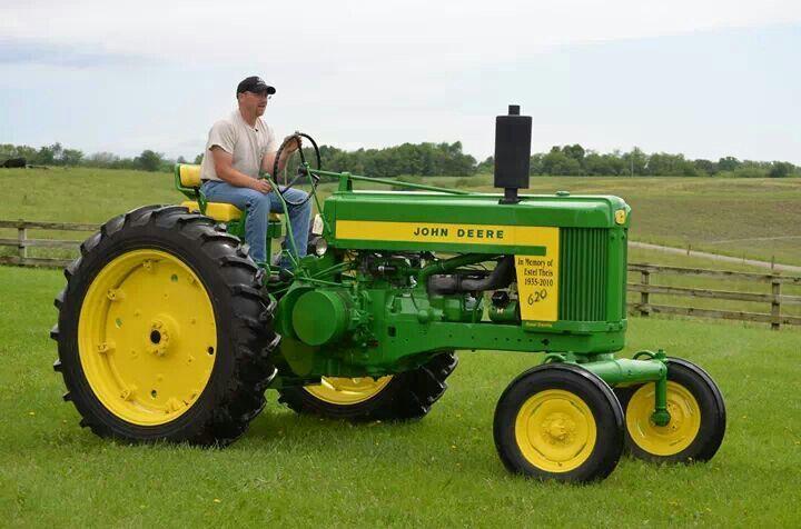 John Deere 620 | Old Tractors | Pinterest