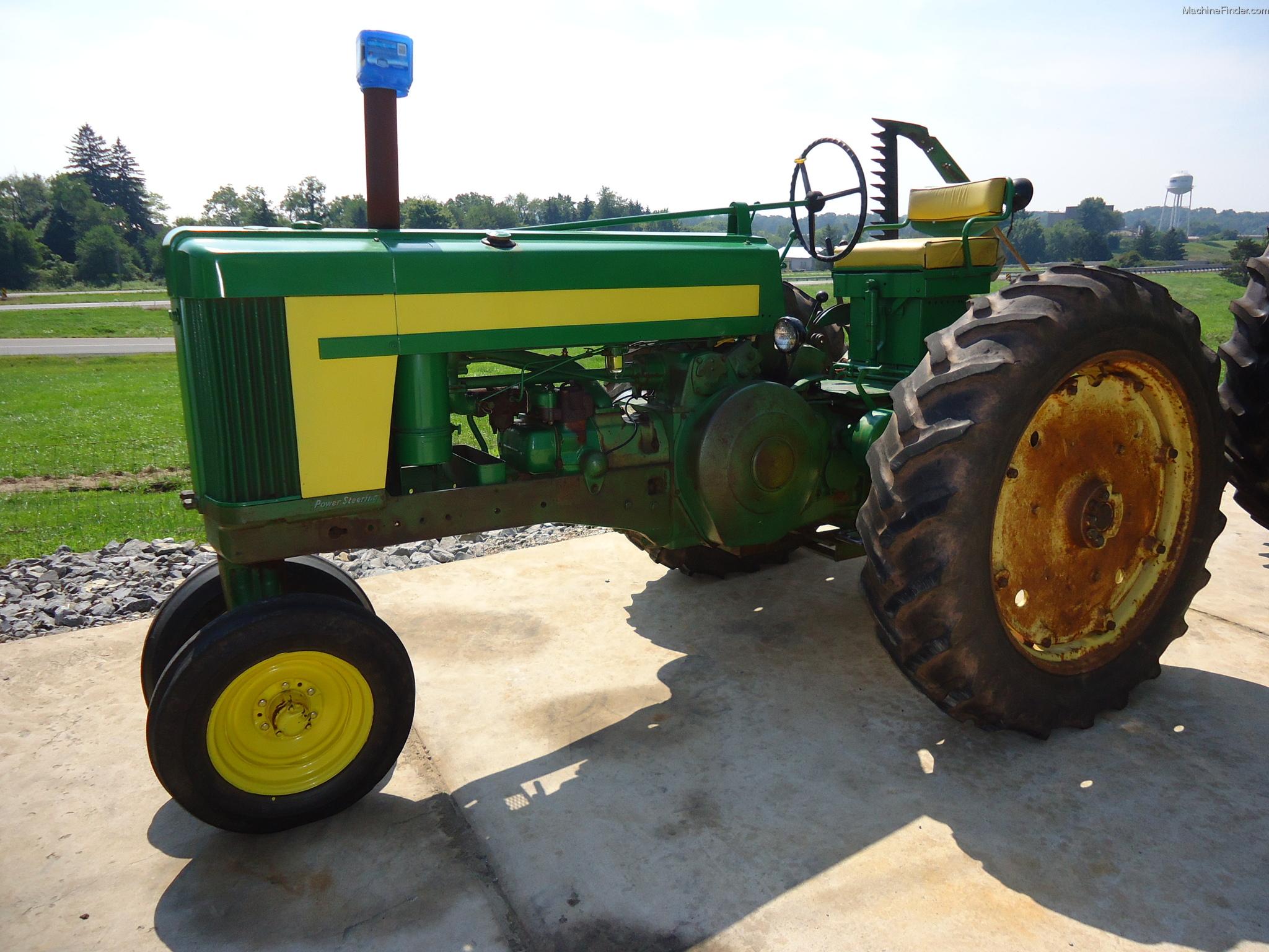 1958 John Deere 620 Tractors - Row Crop (+100hp) - John ...