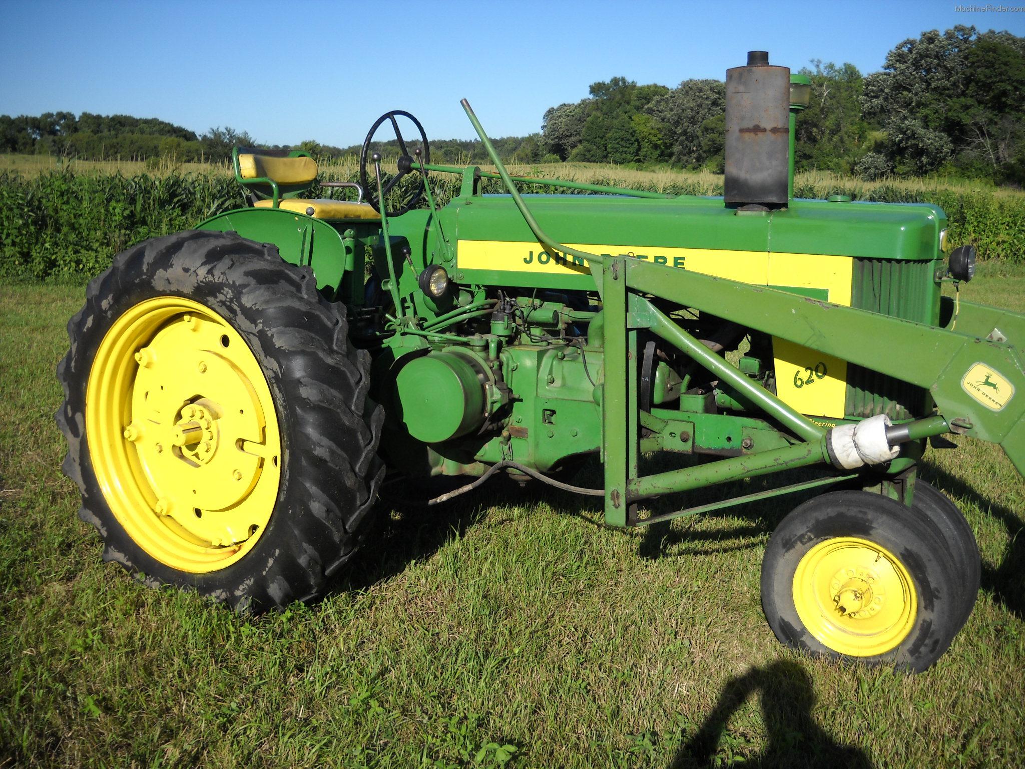 1957 John Deere 620 Tractors - Row Crop (+100hp) - John ...