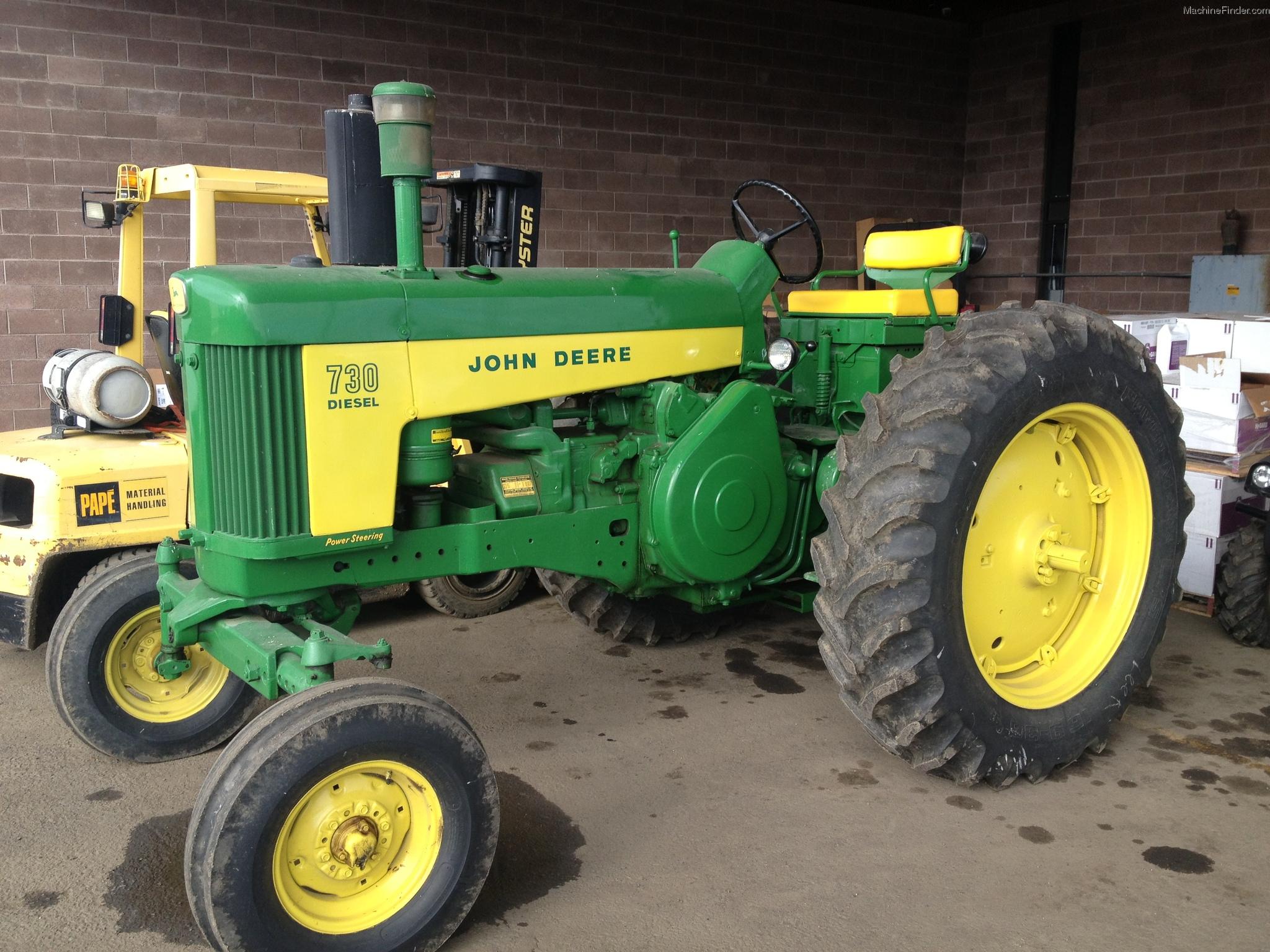John Deere 730 Tractors - Utility (40-100hp) - John Deere ...