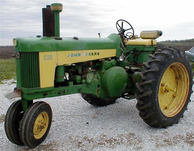 John Deere JD 630 tractor for sale