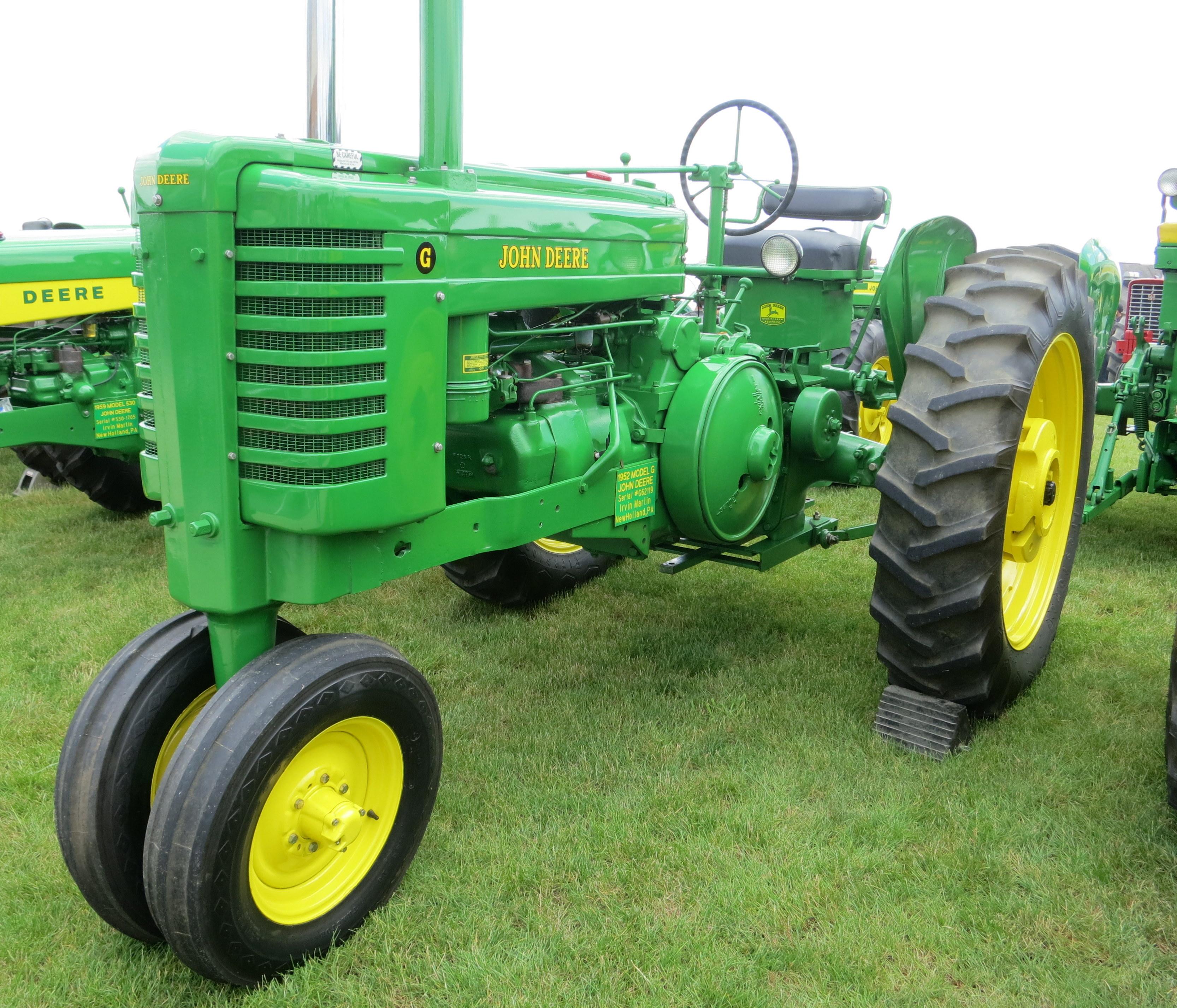 Restored John Deere G | Tractors | Pinterest