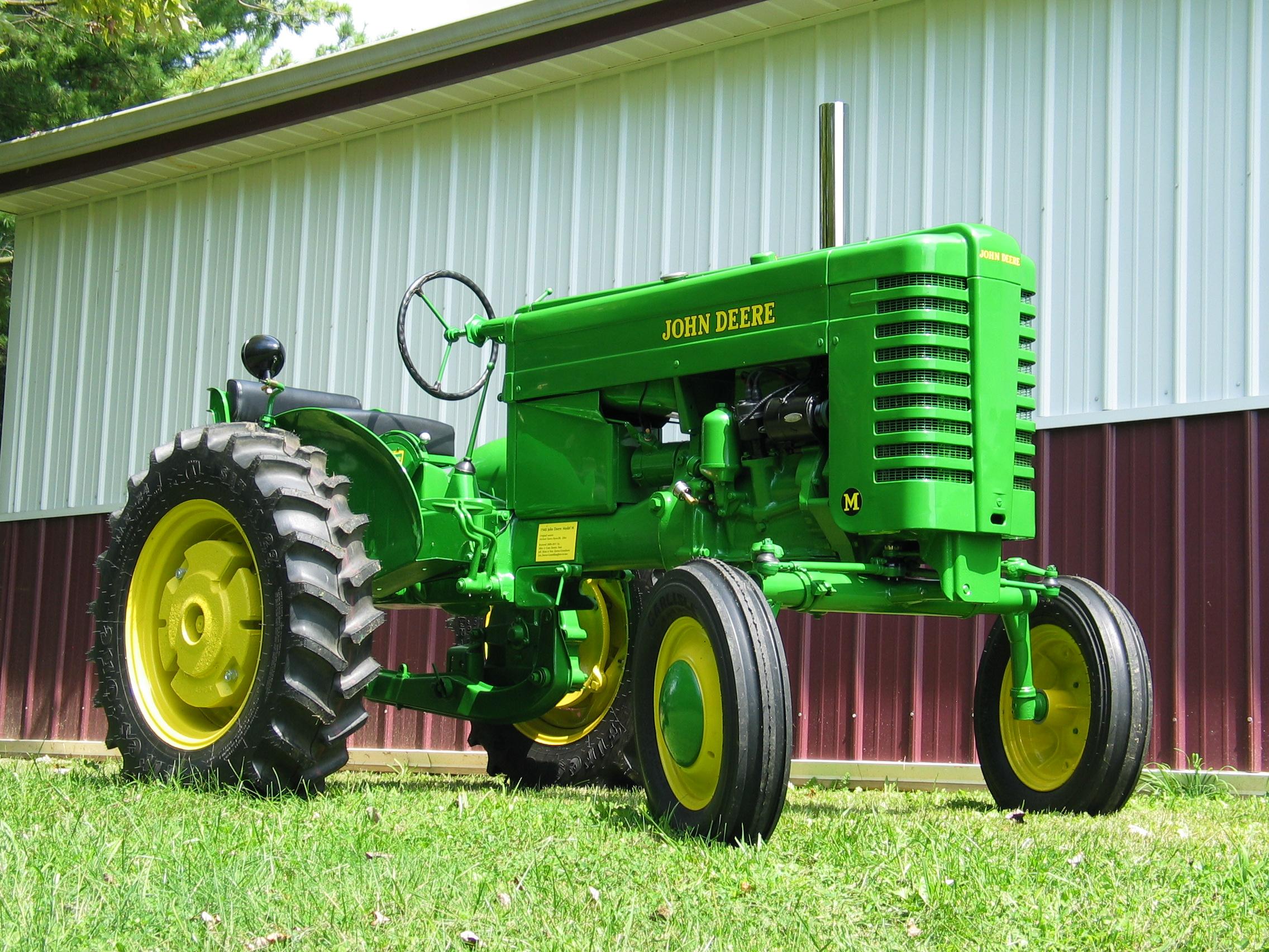 1948 John Deere model M – Antique Tractor Blog
