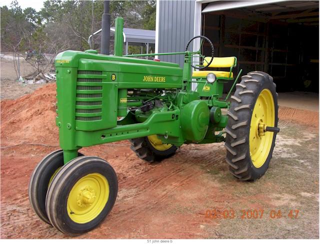 Shinn blog: john deere b tractor