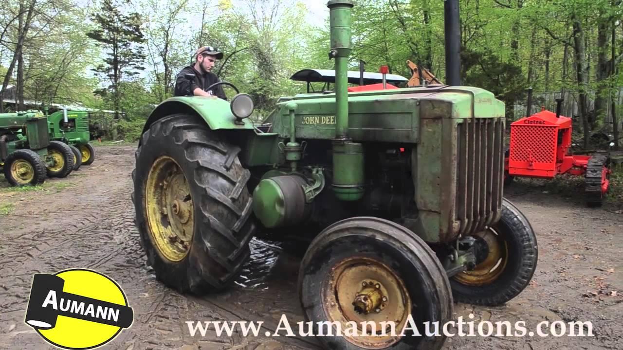 John Deere Model D Tractor - Ken Avery Antique Tractor ...