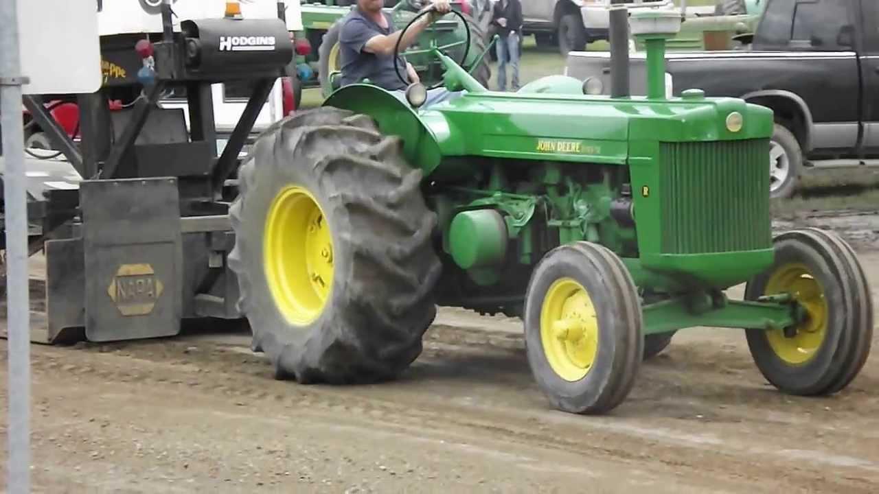 John Deere R tractor - tractor pulling - YouTube